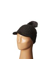 LAUREN Ralph Lauren - Textured Hat w/ Coyote Pom
