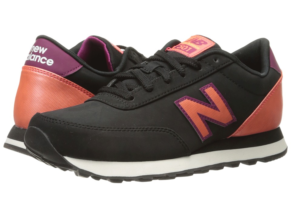 New Balance Classics - WL501 (Black/Dragonfly Synthetic) Womens Classic Shoes