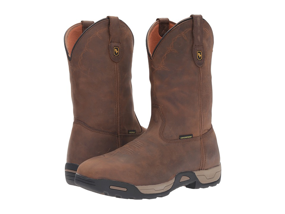 Dan Post Hudson Waterproof Steel Toe (Tan) Men
