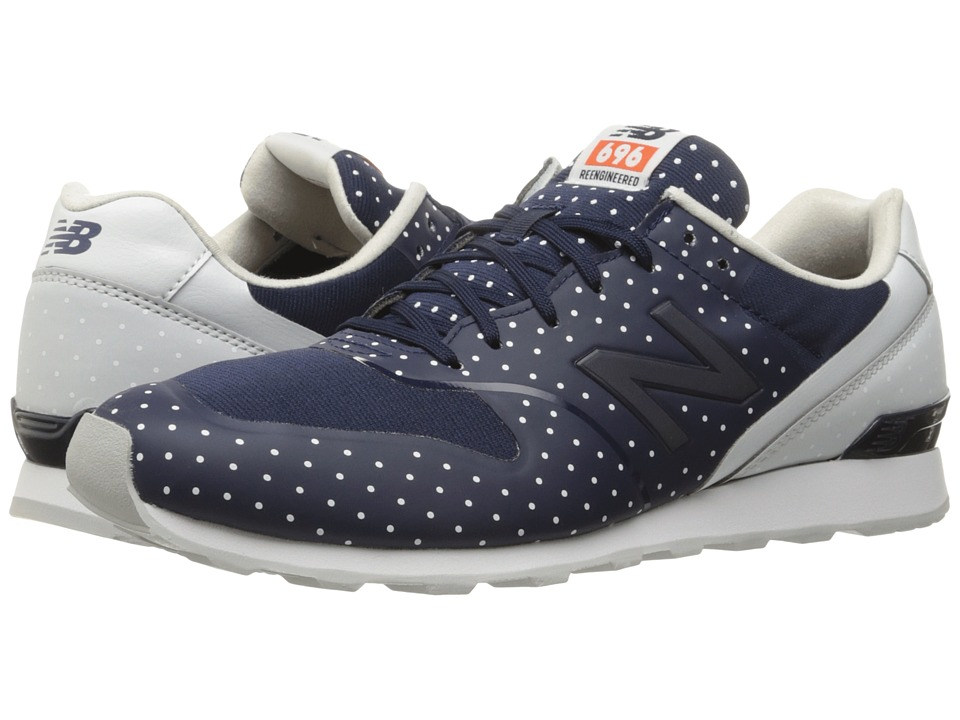 New Balance Classics - WL696 (Navy Synthetic/Textile) Womens Classic Shoes