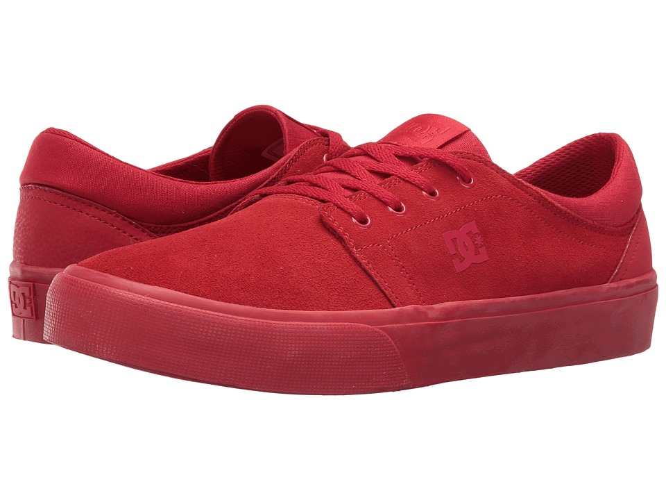 DC - Trase SD (Red) Skate Shoes