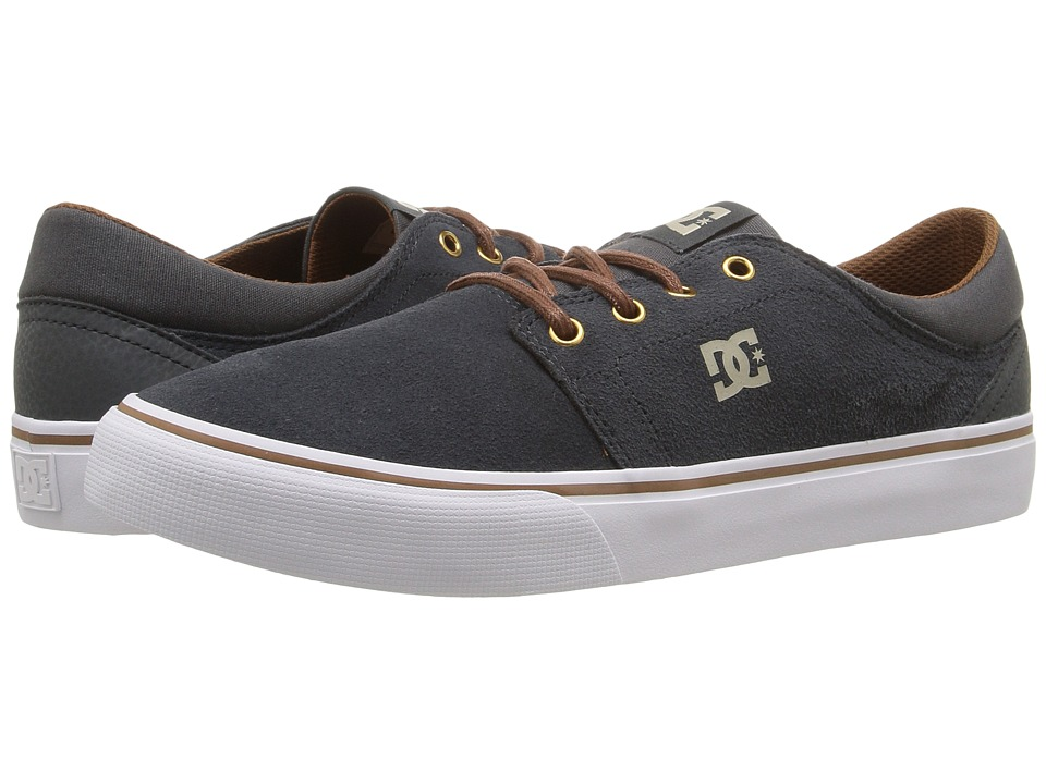 DC Trase SD (Charcoal Grey) Skate Shoes