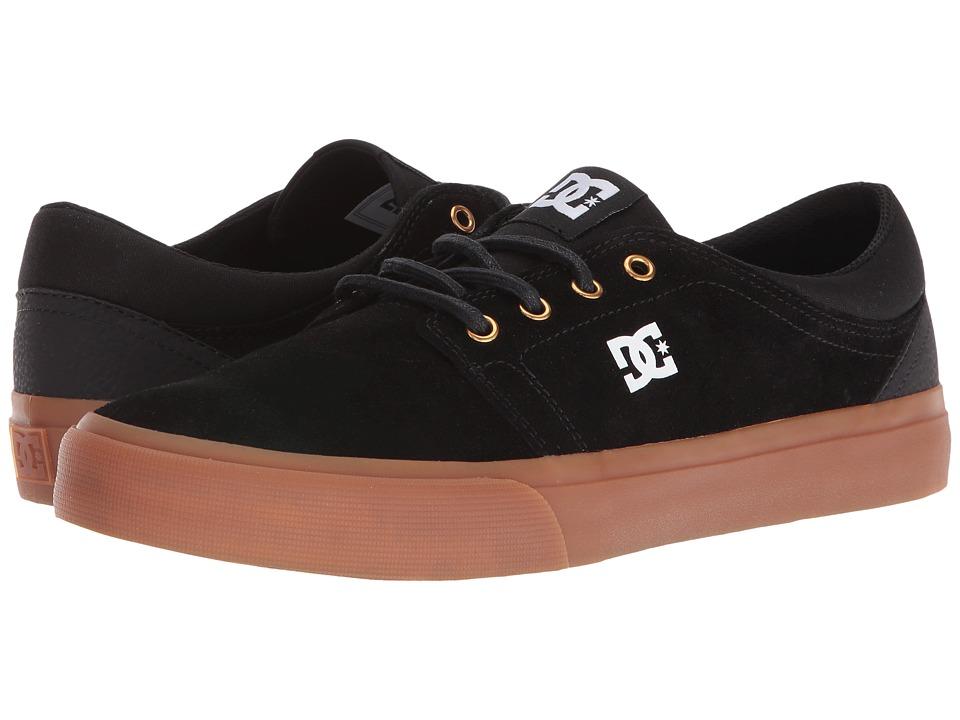DC - Trase SD (Black/Gum) Skate Shoes