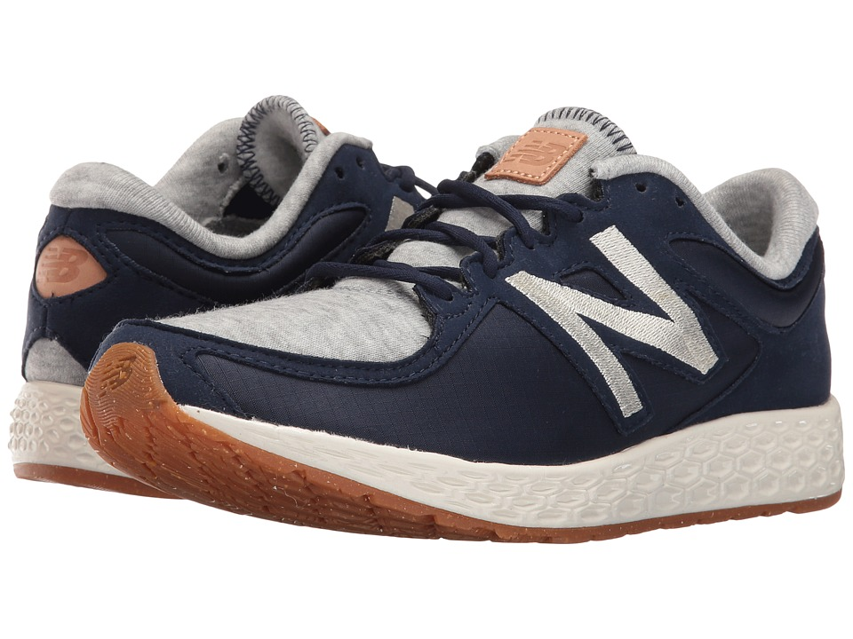 New Balance Classics - WLZANTv2 (Navy Fleece/Nylon) Womens Running Shoes