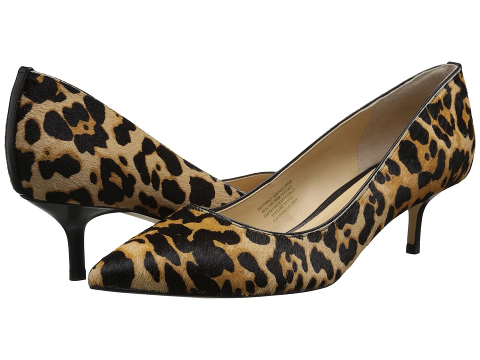 Ivanka Trump Athynaly Leopard Print High Heels