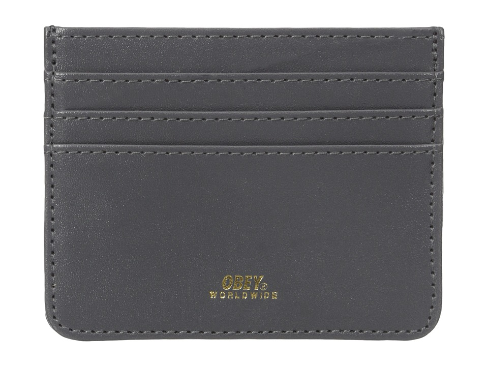 Obey - Gentry ID Wallet (Grey) Wallet Handbags