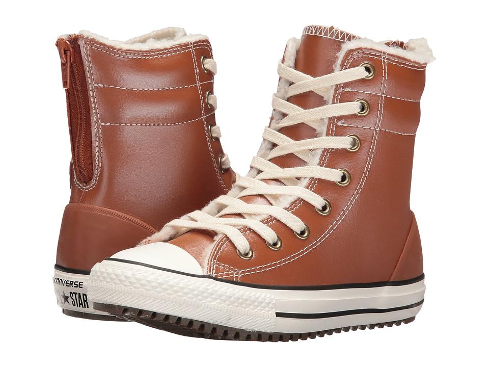 Converse Kids - Chuck Taylor All Star Hi-Rise Boot (Little Kid/Big Kid) (Antique Sepia/Parchment/Egret) Girls Shoes