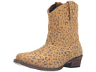 Roper Cheetah (Tan Cheetah Print Leather)