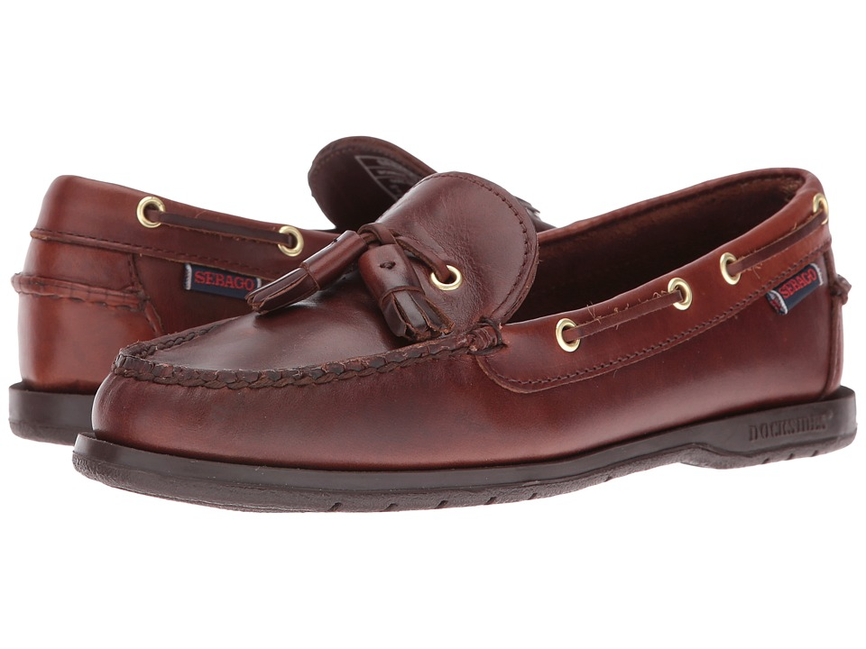 Sebago Caspian (Brown Oiled Waxy) Women