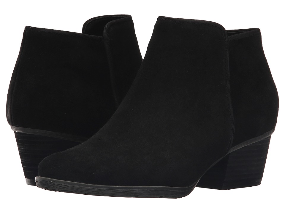 Blondo Villa Waterproof (Black Suede) Women