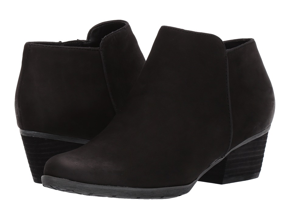 Blondo Villa Waterproof Bootie (Black Leather)