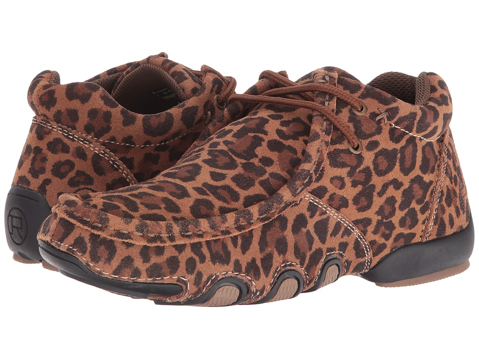 Roper High Country Cassie (Cheetah Print Leather) Women
