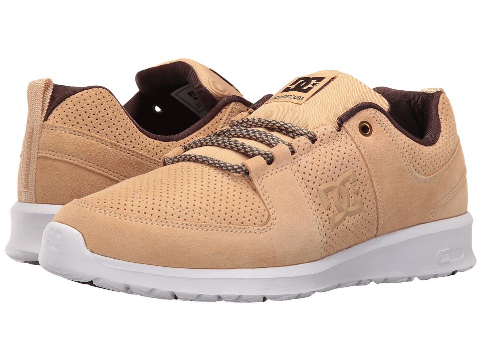 DC Lynx Lite (Tan) Skate Shoes