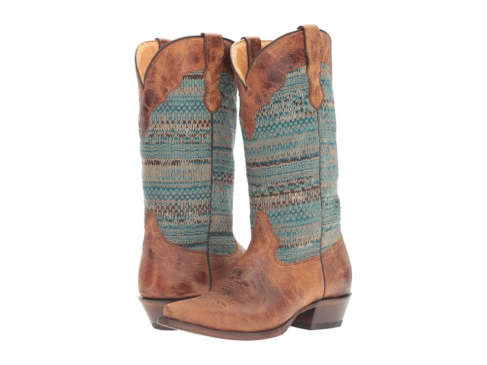 Roper Arnette (Turquoise Sweater) Cowboy Boots