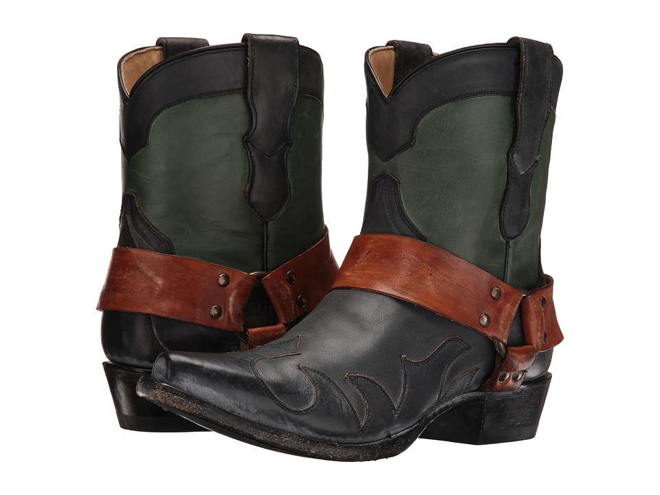 Stetson Jade (Green/Black) Cowboy Boots