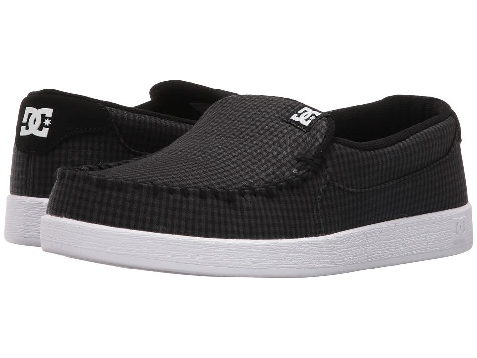DC - Villain TX (Black Buffalo Plaid) Mens Skate Shoes