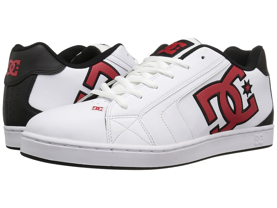 DC Net (White/Athletic Red/Armor) Men