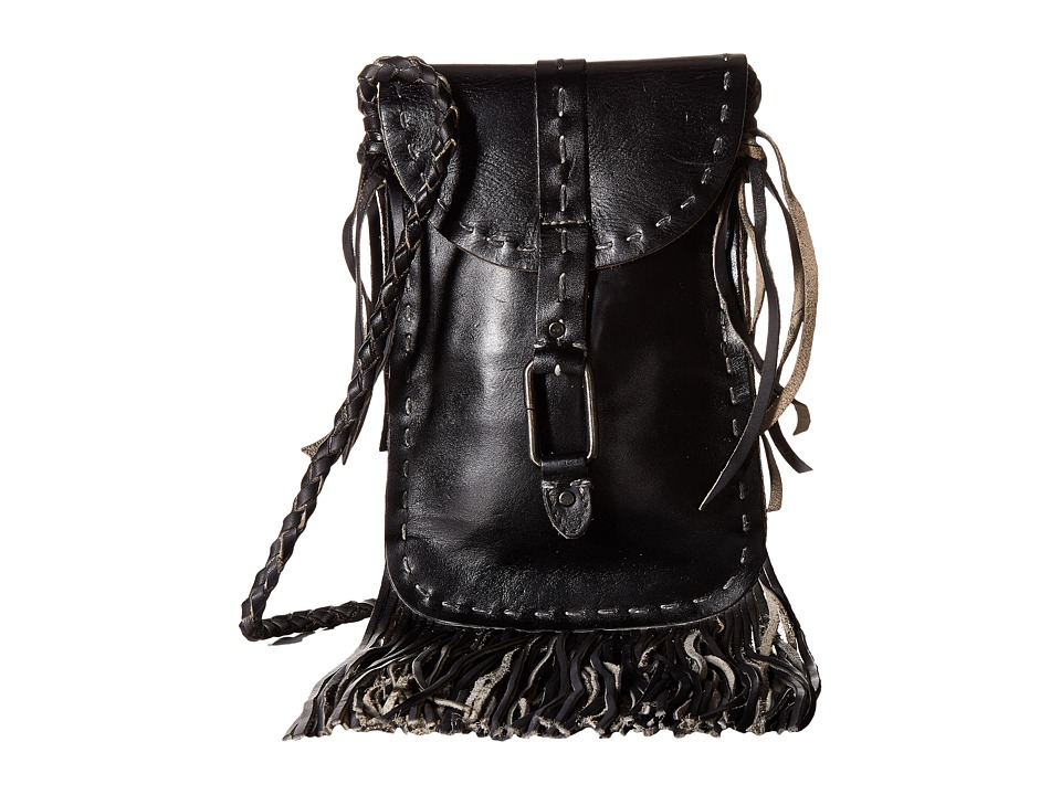 Bed Stu - Sandy Lane (Black Rustic) Cross Body Handbags