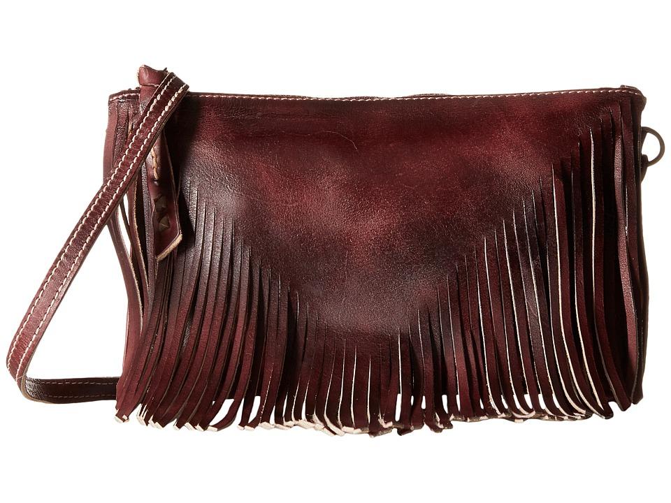 Bed Stu - Silverrock (Dark Scarlett Rustic) Handbags