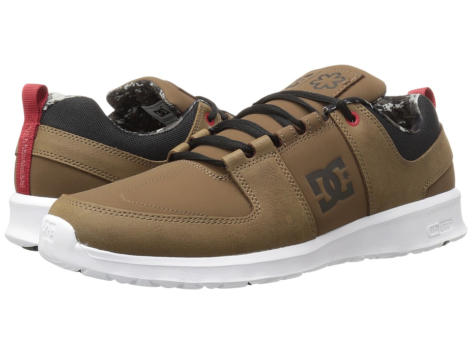 DC Lynx Lite SPT (Brown/Brown/Red) Men