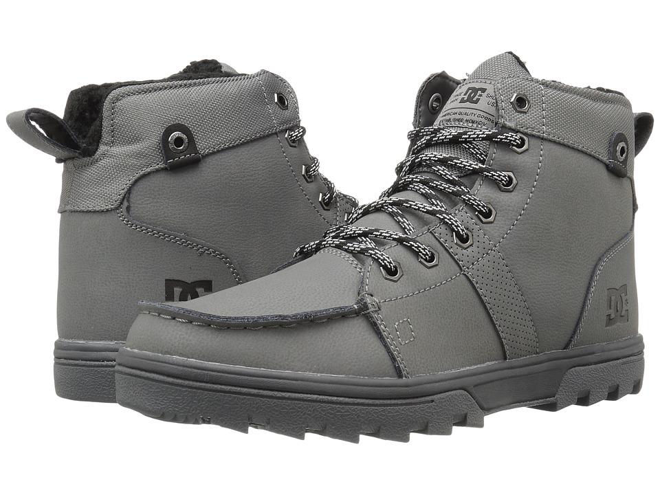 DC - Woodland (Grey) Mens Skate Shoes