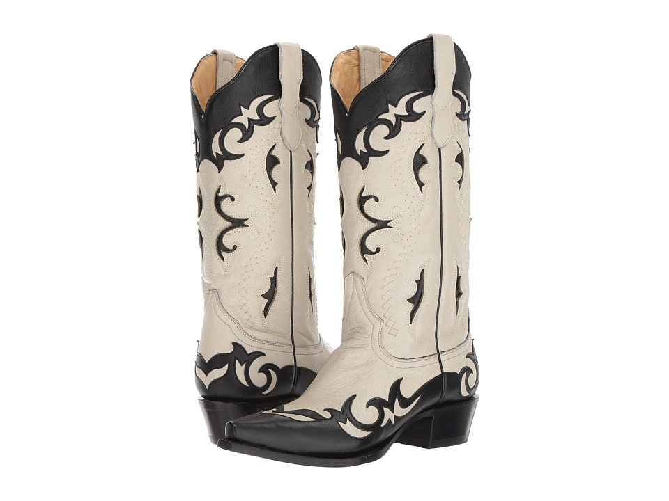 Stetson Piper (Black) Cowboy Boots