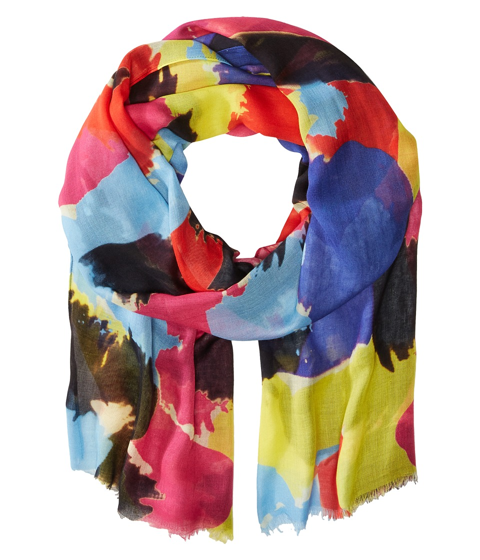 Bindya Lulla by Bindya Pop Brush Strok Multi Scarves