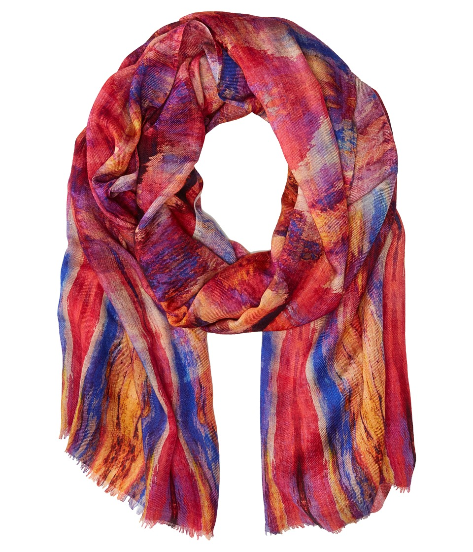 Bindya Vintage Ikat Multi Scarves