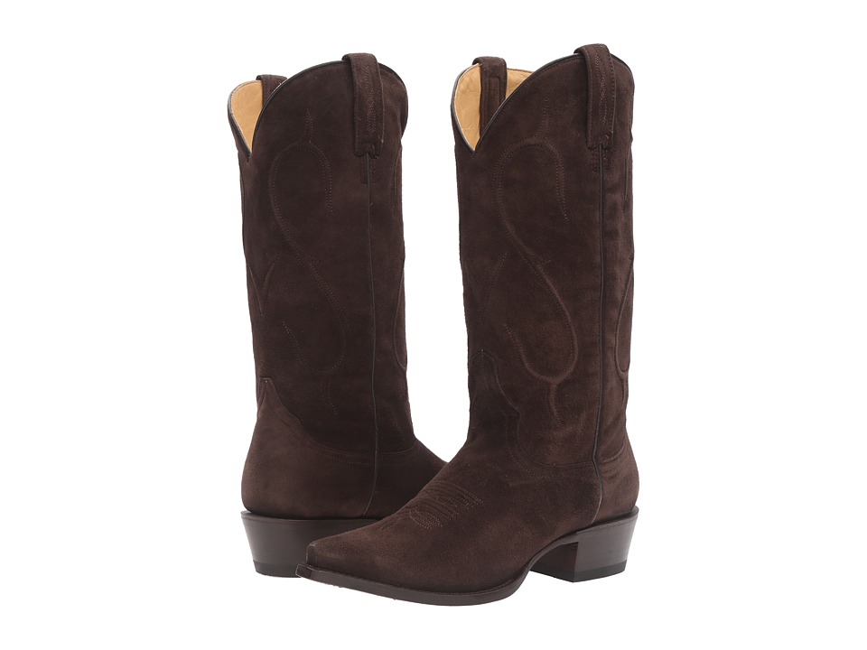 Stetson - Reagan Snip (Chocolate Brown) Cowboy Boots