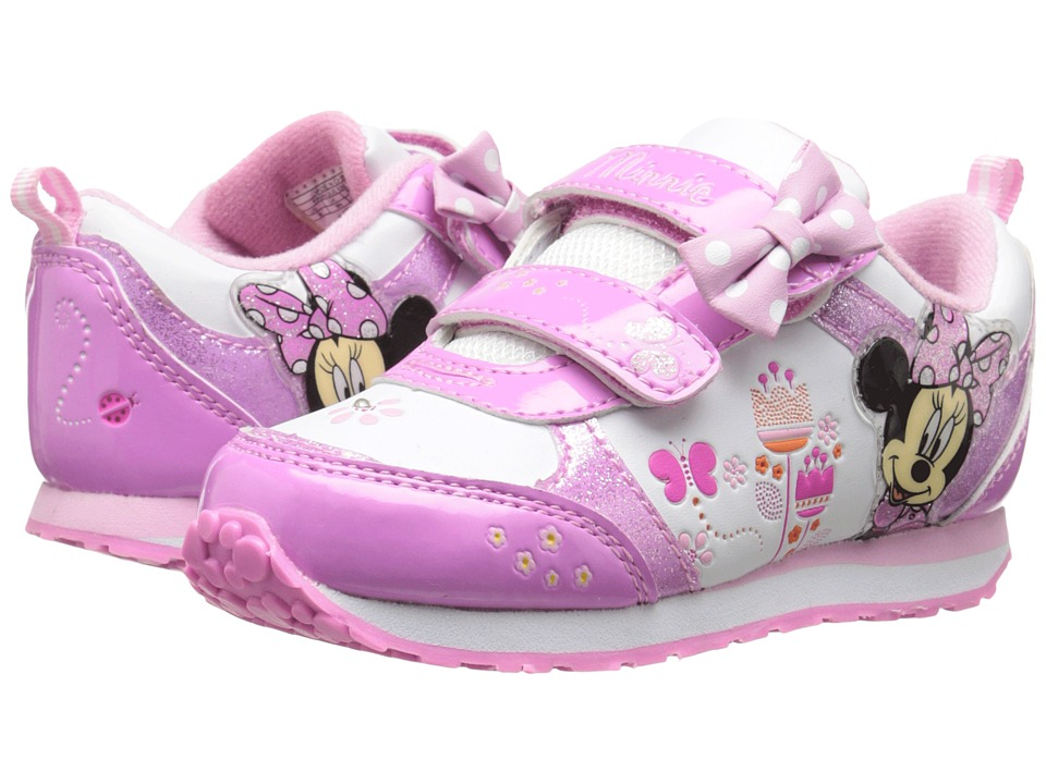 Josmo Kids CH70392B Toddle/Little Kid White/Pink Girls Shoes