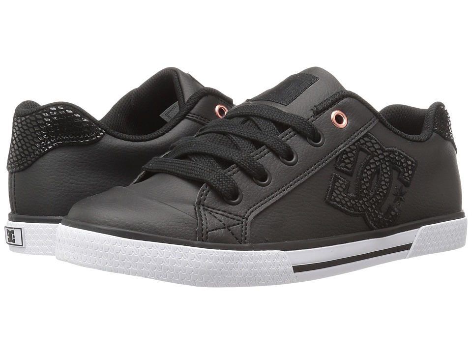 DC - Chelsea SE W (Black/Black) Womens Skate Shoes
