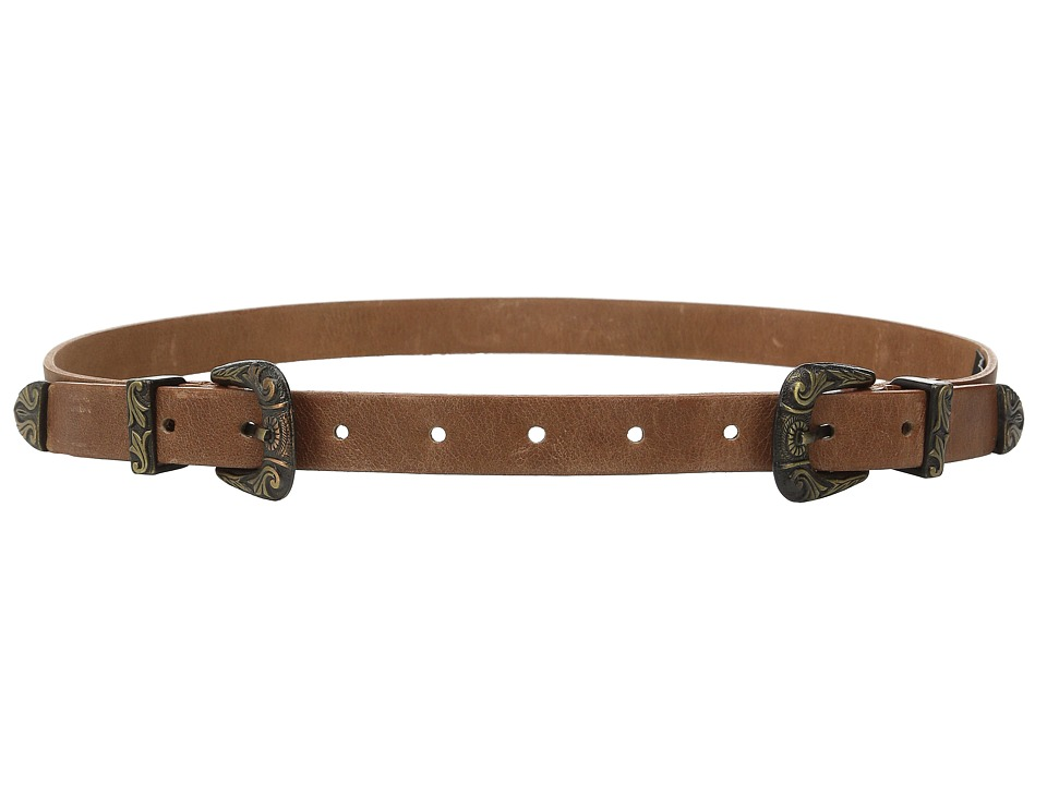 ADA Collection Jenna Belt Cognac/Bronze Womens Belts