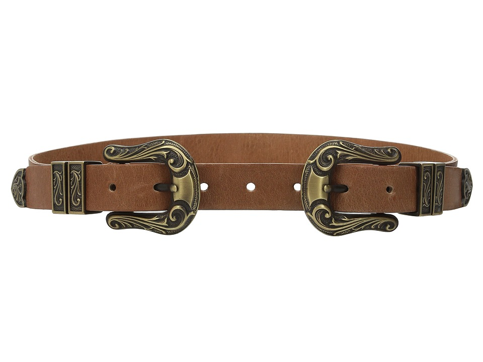 ADA Collection Jule Belt Cognac/Bronze Womens Belts