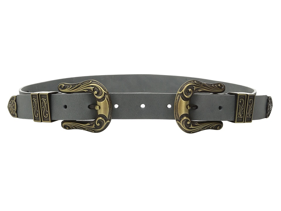 ADA Collection Jule Belt Grey Womens Belts