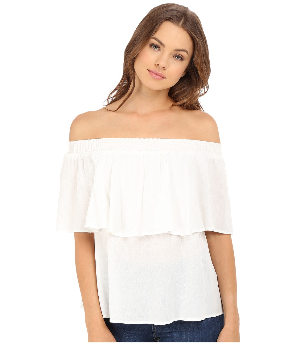 Show Me Your Mumu Bungalow Top White Cloud Womens Blouse