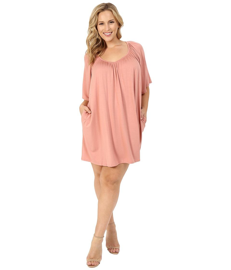 Rachel Pally Plus Plus Size Joss Dress White Label Dusty Womens Dress