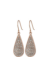 LAUREN Ralph Lauren - Rose Palais Small Pave Teardrop Earrings