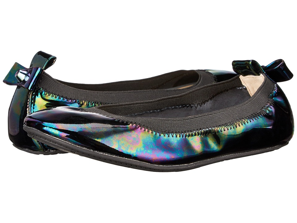 Yosi Samra Kids - Selma Oil Slick Patent Leather Flat