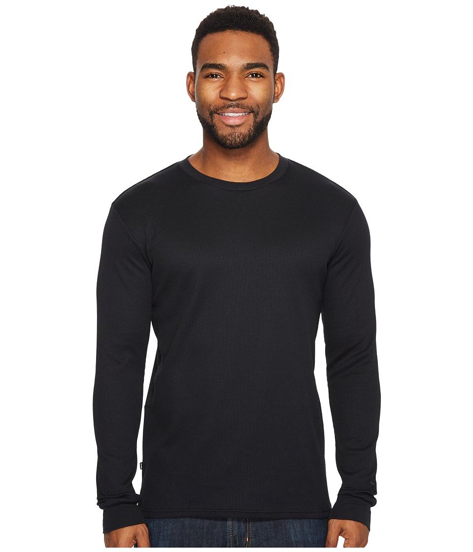 Nike SB - SB Dry Long Sleeve Thermal Top (Black/Black) Mens Long Sleeve Pullover