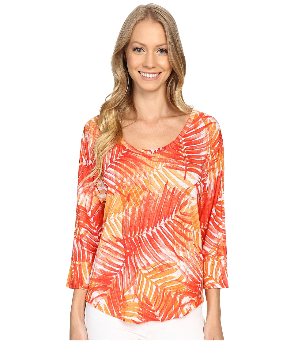 Tommy Bahama - Palm Party Scoop T-Shirt (Apple Blossom) Women