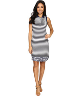 Tommy Bahama - La Luna Stripe Sleeveless Polo Dress