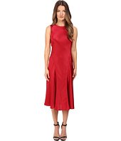 Alberta Ferretti - Sleeveless Satin Dress