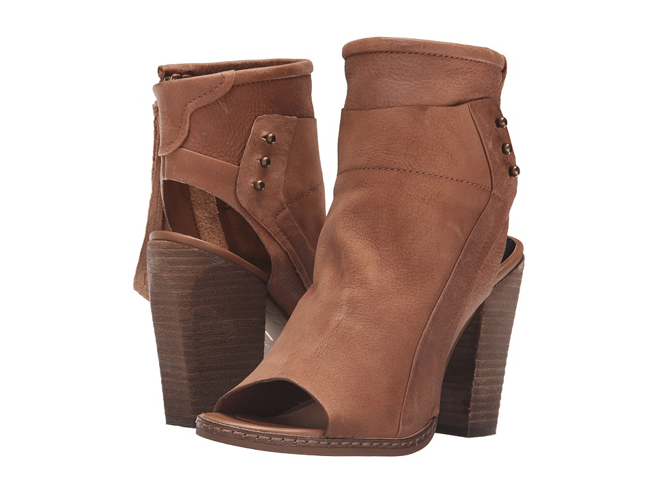 Dolce Vita Niki Chestnut Nubuck Womens Shoes
