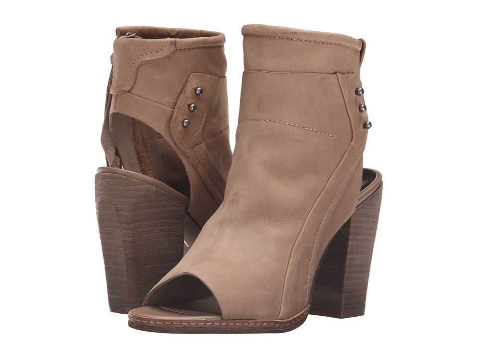 Dolce Vita Niki Taupe Nubuck Womens Shoes