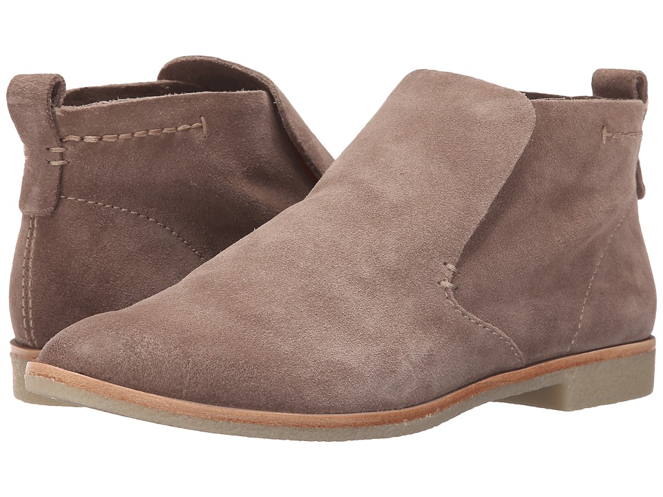 Dolce Vita Colt Dark Taupe Suede Womens Shoes