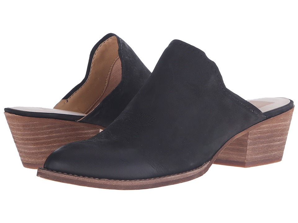 Dolce Vita Shiloh Black Nubuck Womens Shoes