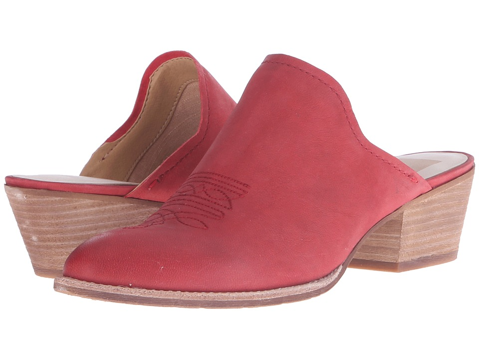 Dolce Vita Shiloh Red Nubuck Womens Shoes