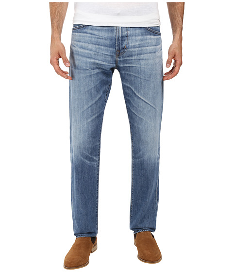 AG Adriano Goldschmied Graduate Tailored Leg Jeans in 17 Years Hard Ground