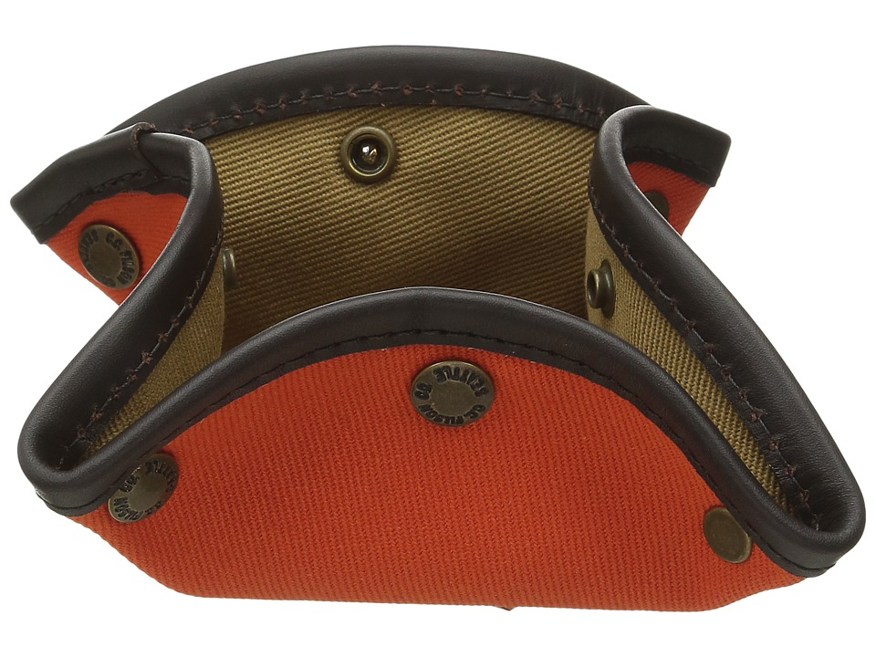 Filson - Twill Travel Tray (Orange/Tan) Wallet Handbags
