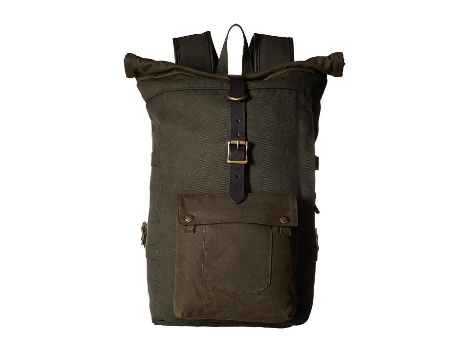 Filson Roll Top Backpack (Otter Green) Backpack Bags